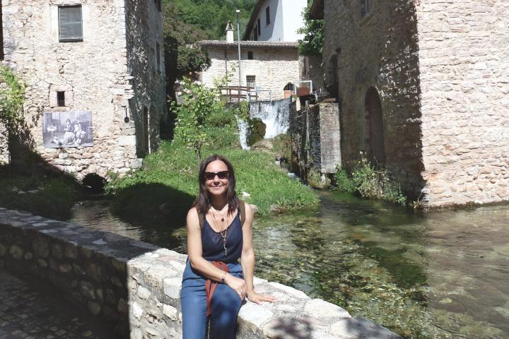Monica Silvestri destinazione umbria