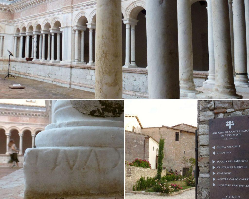 abbazia santa croce in sassovivo