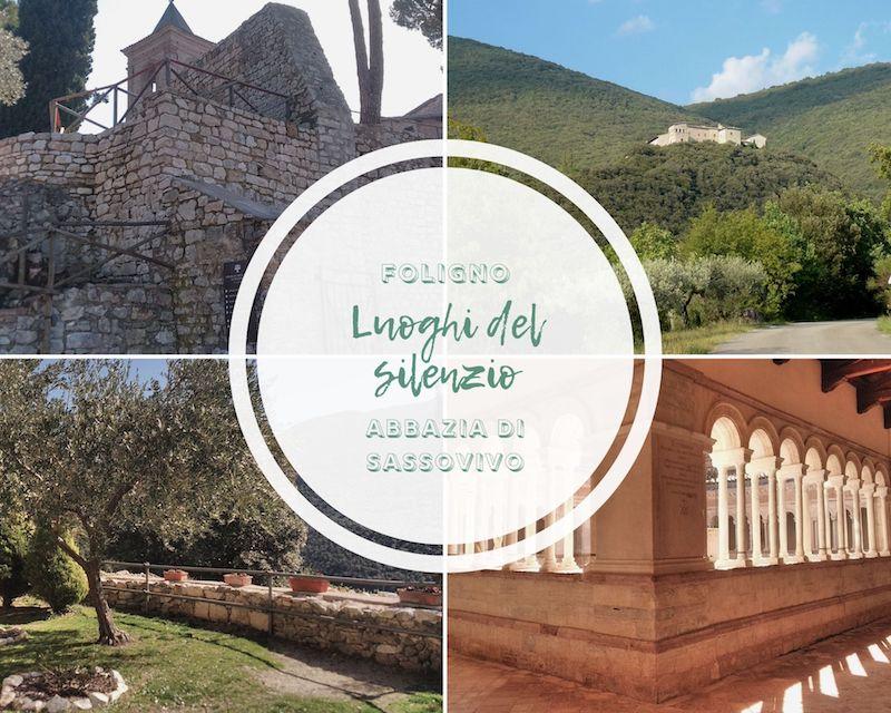 luoghi del silenzio abbazia di sassovivo
