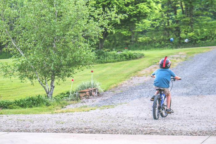 vacanze in bici per bambini