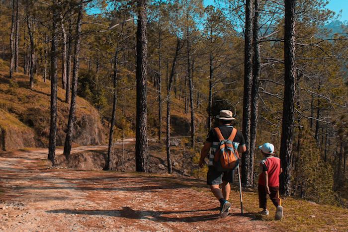 escursioni genitori e figli