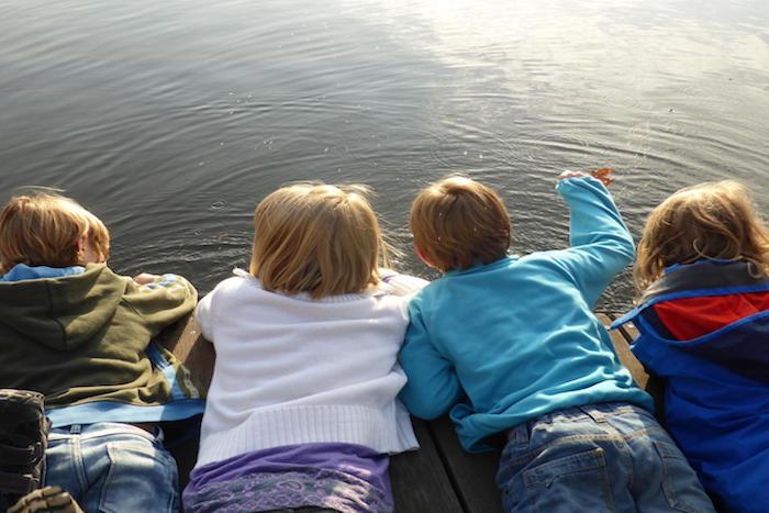 vacanze al lago per bambini
